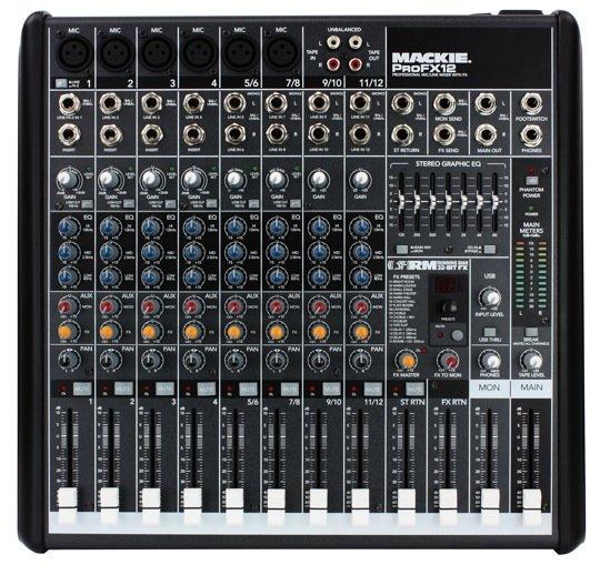 Mackie ProFX Mixer